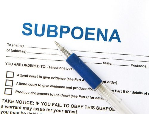 Knock. Knock. Who's There? Coverage for Subpoena Assistance