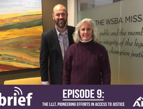 ALPS In Brief Podcast – Episode 9: The LLLT, Pioneering Efforts in Access to Justice