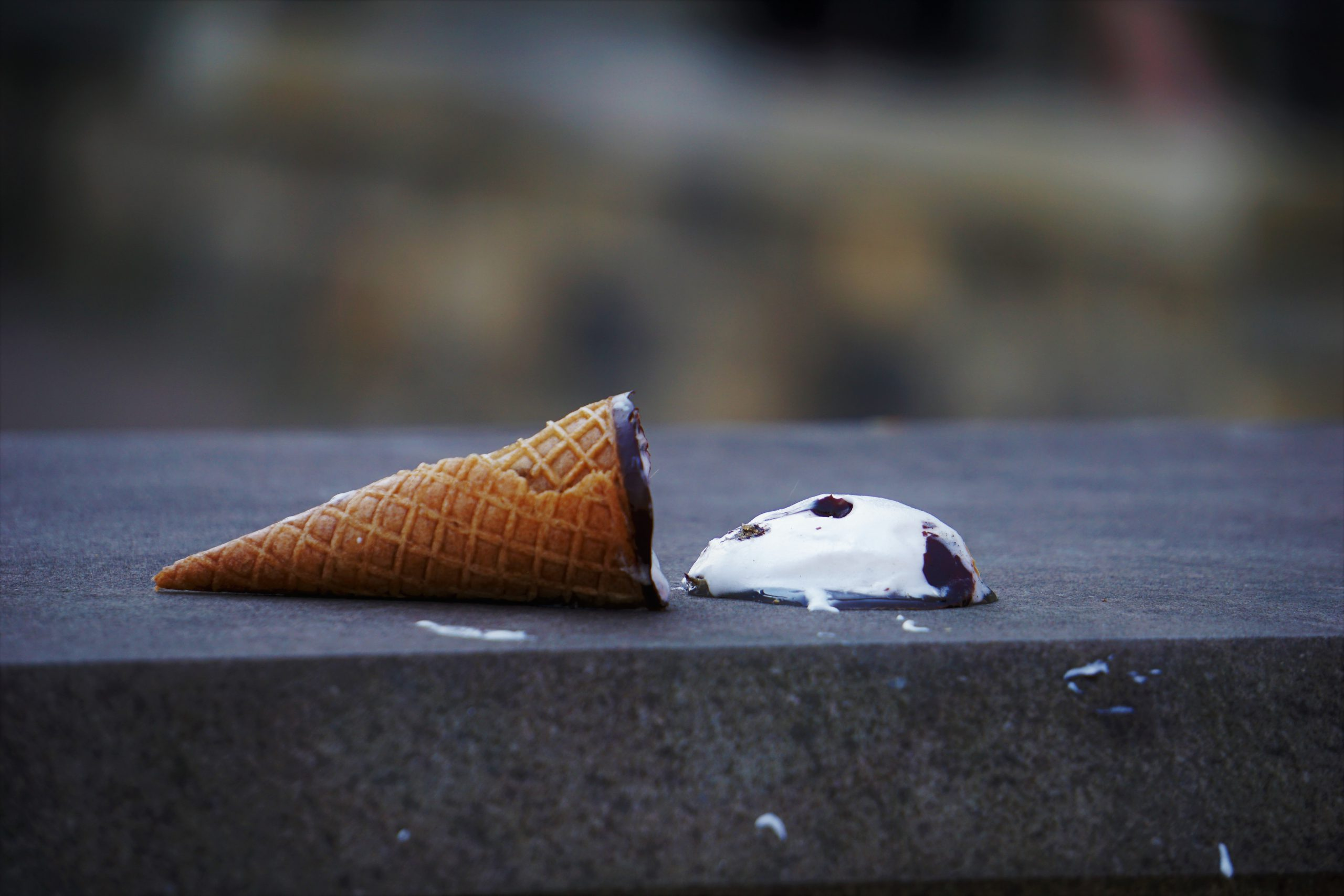 """the attorney who was once """"just a boy eating a drumstick"""" has dropped his ice cream cone on the ground as a metaphor for a failed business transaction"""