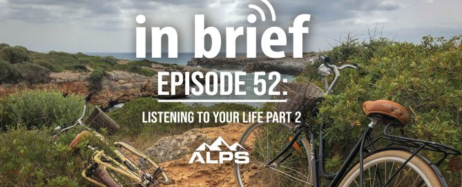 ALPS in Brief podcast about two bicycles