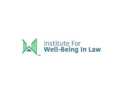 National Task Force on Lawyer Well-Being Establishes Institute for Well-Being in Law